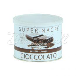 Воск в банке с ароматом шоколада