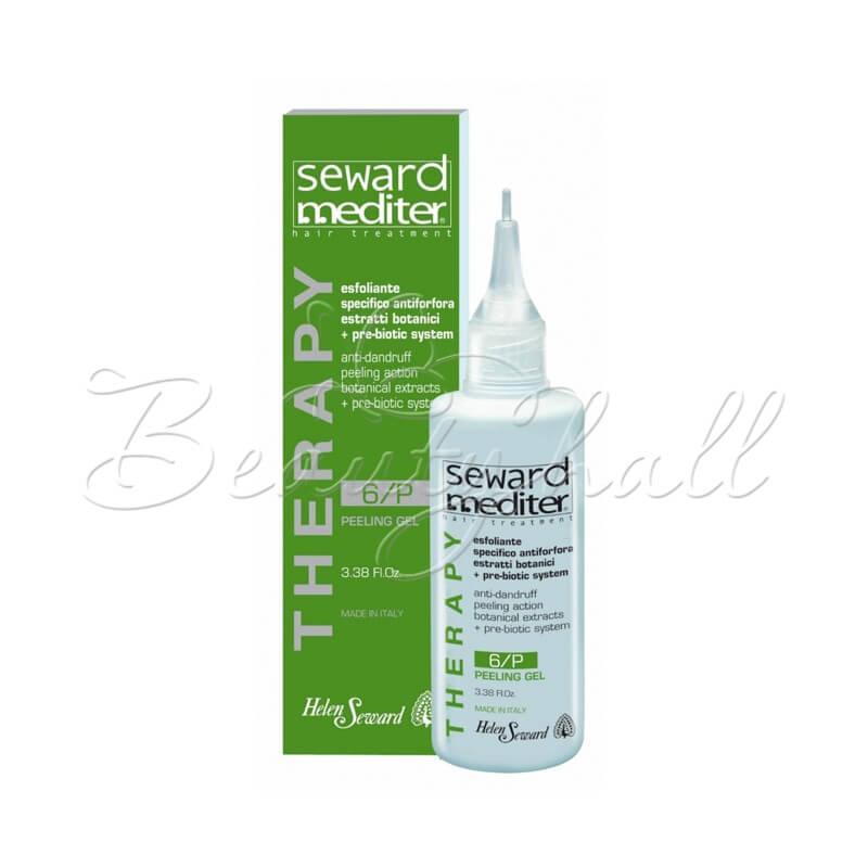 Очищающий гель - скраб для волос и кожи головы против перхоти