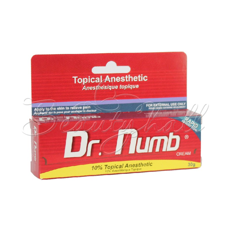 Dr.Numb anesthesia cream