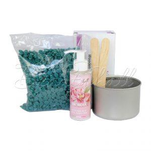 Beautyhall набор для депиляции горячим воском 500 гр + молочко